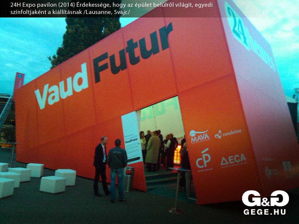 Vaud Futur pavilon