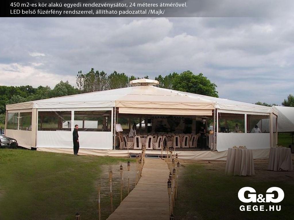 Esküvői sátor - Majk