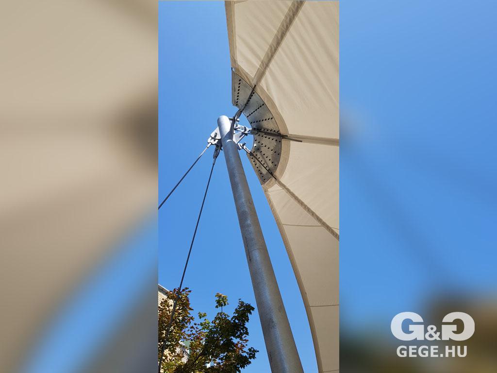 G&G membrán napvitorla, Hajdúszoboszló
